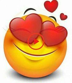 Love and Affection messages Smiley Emoji, Funny Emoji Faces, Emoticon Faces, Smiley Faces, Love Smiley, Emoji Love, Animated Emoticons, Funny Emoticons, Emoji Images