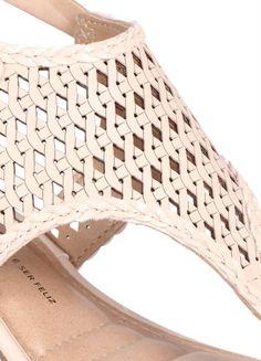 Brown Sandals, Flat Sandals, Women's Shoes Sandals, Heels, Felted Slippers, Slingback Sandal, Laser Cutting, Fashion Shoes, Footwear