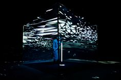 Creative Review - Jamie Lidell's custom-built projection mapped cube