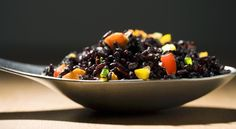What is Forbidden Black Rice? #food #recipes #spiralizer