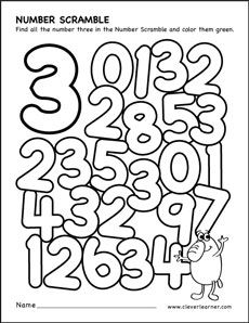 number scramble colouring sheets for kidsroll the dice and Number 4 Find And Color Worksheet Learning Numbers Preschool, Preschool Activities At Home, Free Kindergarten Worksheets, Number Activities, Preschool Lessons, Kindergarten Math, Color Worksheets For Preschool, Tracing Worksheets, Numbers For Kids