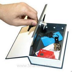 Книга сейф с ключ - стилен тайник за всяка библиотека