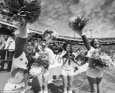History of the Super Bowl cheerleader #DailyMail