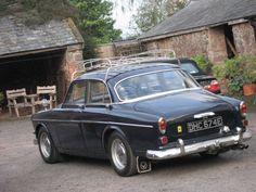 volvo amazon met dak rek