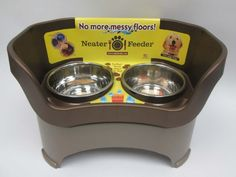 Neater Feeder for Dogs, Dog Bowl, Large, Bronze Neater Feeder,http://www.amazon.com/dp/B002A2QUAA/ref=cm_sw_r_pi_dp_yI8Fsb0T8GYW0BJ4