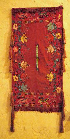 Maya poncho Chiapas, Mexico