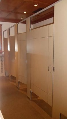 Ironwood Manufacturing phenolic toilet partitions and bathroom doors with engraving. Beautiful unique public restroom & custom toilet partitions - Google Search | Windsor Hotel ... pezcame.com
