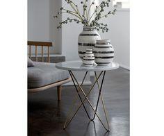 Kähler - Omaggio vaza v srebrni - prihaja spomladi 2015 tudi v FORMADOMA DESIGN SHOP www.formadoma.eu