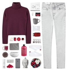 """""""' we are dancing with the demons in our minds. '"""" by m-balli ❤ liked on Polyvore featuring W2 Products, NARS Cosmetics, philosophy, Korres, ASOS, Imax Home, Royal Doulton, Pieces, No Name and Oskia"""