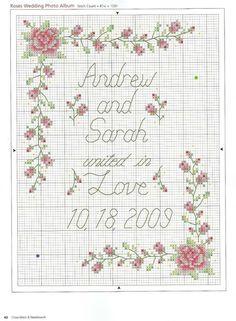 galleryru 33 csn 5 2009 livadika wedding patternpattern flowercrossstitchcross