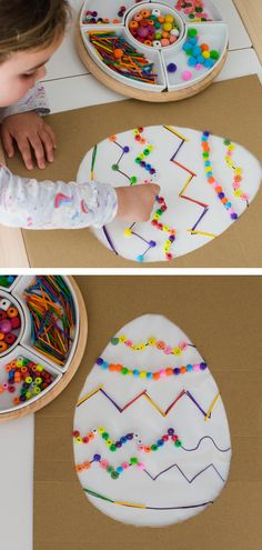 Easter Play & Craft Activities - Inspire my Play - - Easter provides a lovely opportunity to do lots of themed play and craft activities. Here's some activities that we've loved to do. Easter Activities For Kids, Spring Crafts For Kids, Easy Easter Crafts, Diy For Kids, Bunny Crafts, Easter Crafts For Preschoolers, Toddler Crafts, Preschool Crafts, Easter Play