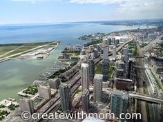 Our View of #Toronto from the #CNTower
