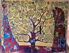 L 39 arbre de vie klimt art pinterest klimt for Biographie de klimt