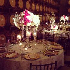 Gorg centerpiece at this rustic winery wedding! Wedding Reception Backdrop, Reception Party, Diy Wedding, Party Wedding, Rustic Wedding, Wedding Themes, Wedding Table, Wedding Stuff, Wedding Flowers