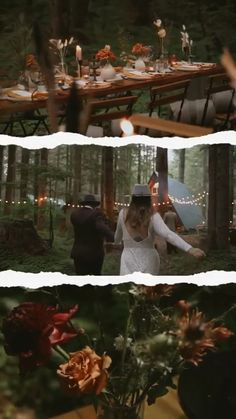 PNW Cabin Elopement | National Park Wedding | A-frame Elopement | Reception Inspiration | The Greatest Adventure Weddings & Elopements | Wander Event Rentals | Amora Cinema