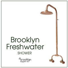 "Brooklyn Copper Co. on Instagram: ""// BROOKLYN FRESHWATER // A beautifully balanced classic design that is just as much at home on a rusty shed, as it is next to the beach.…"""