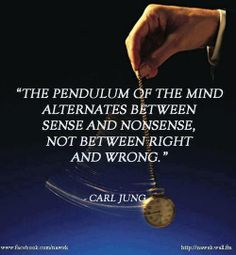 The pendulum of the mind alternates between sense and nonsense, not between right and wrong~Carl Jung, obviously talking about Doctor Who. Wisdom Quotes, Book Quotes, Me Quotes, Devil Quotes, Psych Quotes, Literature Quotes, Journal Quotes, Beauty Quotes, Faith Quotes