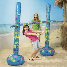 Inflatable Limbo Kit - Games & Activities & Games by Oriental Trading Company. $29.99. Inflatable Limbo Game Kit. How low can you go? Find out with our Inflatable Limbo Game Kit! The perfect luau party game this limbo kit features a new and improved design and will be the hit of any party. Each vinyl set includes 2 freestanding 6-ft. poles and one 6-ft. limbo stick. Add water to the bases to keep them upright. Includes instructions. OTC We've listened. This product ...