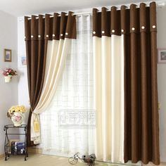 Two Tone Curtains Color Block Curtains Cute Curtains Modern Curtains Beautiful Curtains Crochet Curtains Hanging Curtains Window Curtains Home Theater Curtains Fancy Curtains, Luxury Curtains, Elegant Curtains, Beautiful Curtains, Modern Curtains, Colorful Curtains, Two Tone Curtains, Purple Curtains, Brown Curtains
