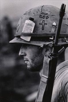 """A tribute to the Vietnam War. """"No event in American history is more misunderstood than the Vietnam War. Vietnam War Photos, Vietnam Veterans, Military Art, Military History, Military Soldier, Military Quotes, Marine Tattoo, Foto Portrait, World History"""