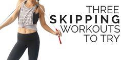 Three skipping workouts
