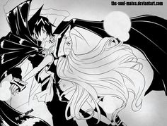 As much as I love Anna and Yoh, my main OTP is Ren and Iron Maiden Jeanne