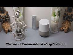 Plus de 150 demandes à Google Home