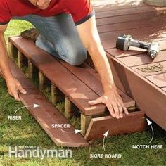 Backyard Decks: Build an Island Deck  ***Repinned by Normoe, the Backyard Guy (#1 backyardguy on Earth) Follow us on; http://twitter.com/backyardguy