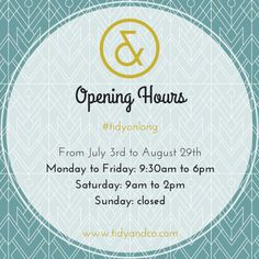 Until end of August :) Tidy & Co. on Long St Cape Town Pop Up, Tea Party, Personalized Items, Cape Town, Shop, Popup, Tea Parties, Store