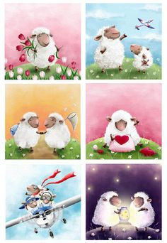Elina Ellis Illustration: My Cards