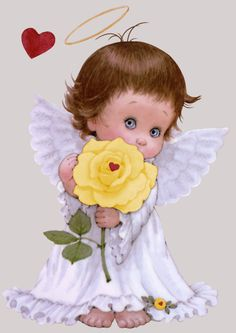 Ruth Morehead - I love you Mom. Angel Images, Angel Pictures, Baby Engel, Angel Clipart, I Believe In Angels, Good Night Sweet Dreams, Angels Among Us, Guardian Angels, Angel Art