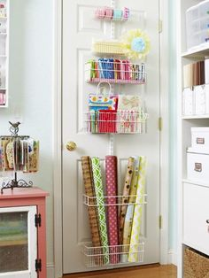 Is+your+craft+room+a+chaotic+mess?+Luckily,+this+HGTV+Magazine+reader+shared+her+organization+tips.