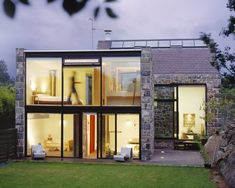 MOOARC designed La Concha, a home that has been remodeled from a 15th Century barn on the Island of Guernsey.