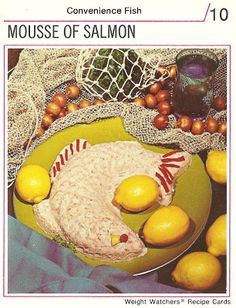 Mousse of Salmon (Weight Watchers Recipe Cards, 1974)