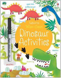 Wipe-Clean Dinosaur Activities