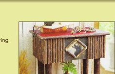 Karen Kreek Camp Design Furniture out of Montana.... great company!