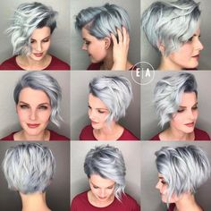 Long Pixie Cuts 2019 For Teens This Year long pixie cut and dry no matter how long the hair, whatever nature; the problem of long pixie cut is increasing Short Pixie Haircuts, Pixie Hairstyles, Summer Hairstyles, Easy Hairstyles, Oval Face Hairstyles Short, Haircut Short, Hairstyles Pictures, Stacked Hairstyles, Longer Pixie Haircut