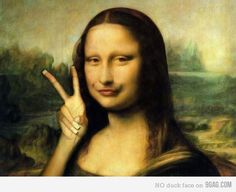 If Mona Lisa were painted in modern times
