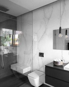 Washroom Design, Toilet Design, Bathroom Design Luxury, Bathroom Layout, Modern Bathroom Design, Bathroom Ideas, Bathroom Organization, Modern Marble Bathroom, Restroom Ideas