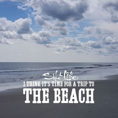 It's time for a beach trip!