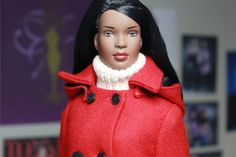 Protoype Esme Wearing Weekend Retreat (wool edition). This actual doll featured in the Tonner/Tyler Wentworth 2001 catalogue and the Tyler Wentworth 5th anniversary album