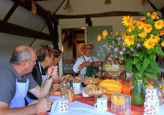 Kürbis im Spreewald - dann bitte meine Werkstatt am 13.9.2014 - Info dazu unter www.spreewald-kraeutermanufaktur.de