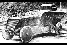 The rare and very distinctive Austro-Hungarian Romfell armored car was one of the most visually striking and innovative models to fight in World War I. Heavy Machine Gun, War Machine, Military Humor, Military History, Armored Vehicles, Armored Car, Anglo Dutch Wars, Armoured Personnel Carrier, Austro Hungarian