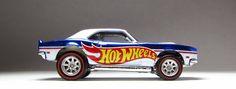 Hot Wheels Redline Club '68 COPO Camaro with Real Riders