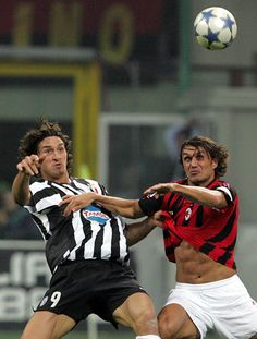 2 of my fav footballers...Ibra v Maldini
