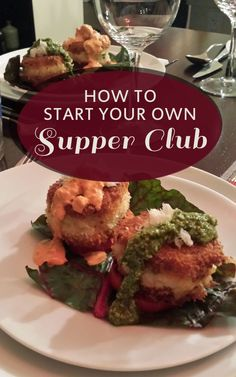 How to Start Your Own Supper Club