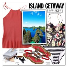 """""""Chic Island Getaway"""" by oshint ❤ liked on Polyvore"""