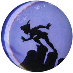 Disney Peter Pan Silhouette Pin   Hot Topic ($1.59) ❤ liked on Polyvore featuring jewelry, brooches, buttons, pins, disney, peter pan jewelry, button jewelry, pin brooch and disney jewellery