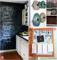 10 DIY Ways to Organize your Kitchen