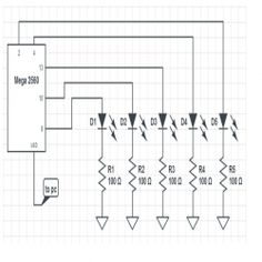 Electronic voting machine using seven segment multiplexing